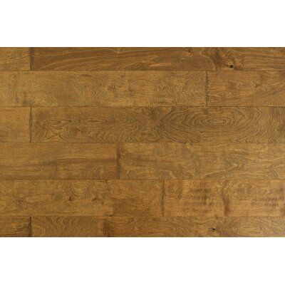 Artiofloors California Sunshine Birch 4 7 Thick X 6 1 2 Wide X 12 Length Engineered Hardwood Flooring Color Seine Installing Hardwood Floors Hardwood Floor Colors Acacia Hardwood Flooring