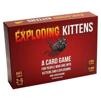 Exploding Kittens Game Exploding Kittens Card Game Exploding Kittens Card Games