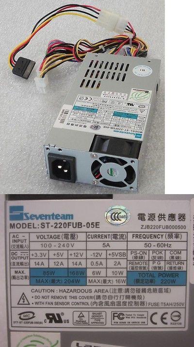 New Pulls Seventeam 220w Internal Power Supply St 220fub 05e Ebay Power Power Supply Ebay