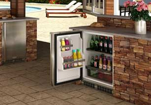 8 Essential Components Of An Outdoor Bar Bbq Guys Outdoor Refrigerator Outdoor Bar Outdoor Kitchen