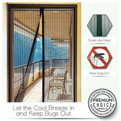 Details About Magic Magnetic Insect Door Mesh Net Screen For Bug
