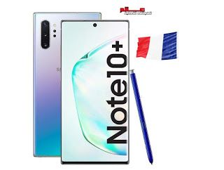 سعر سامسونج جالاكسي Note 10 Plus في فرنسا Samsung Galaxy Note 10 Plus Prix France Galaxy Note 10 Samsung Galaxy Note Galaxy Note