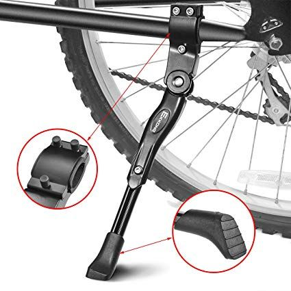 Ekkong Bike Kickstand Adjustable Aluminium Alloy Bicycle
