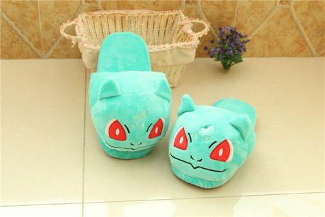 Pikachu Pokemon Go Plush Shoes Home