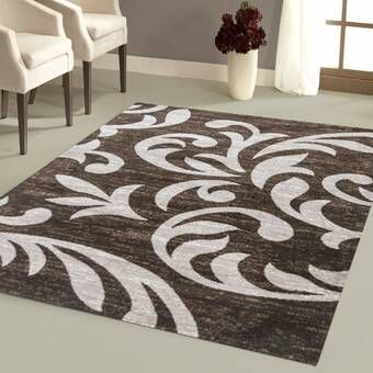 Orren Ellis Ilkley 3d Effect Thick Modern Contemporary Abstract Blue Area Rug Wayfair Area Rugs Brown Area Rugs Rugs