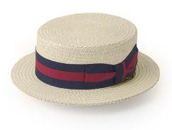 Una breve historia sobre el sombrero canotier  a8f3ec7d6476