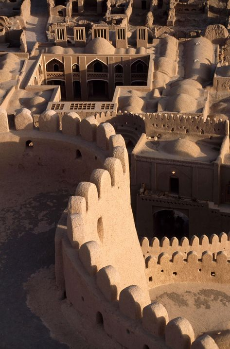 This Ancient Citadel Looks Like a Giant Sandcastle