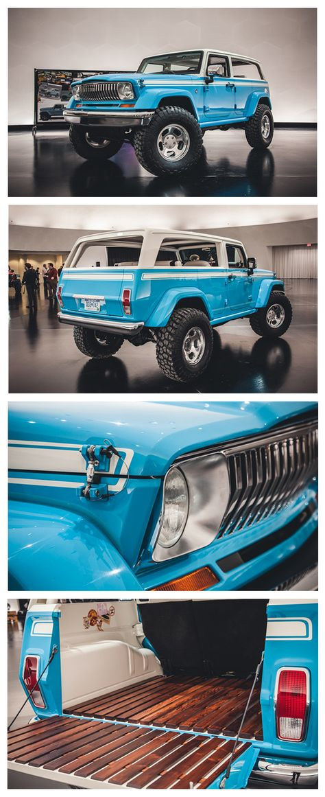 Gnarly Jeep Chief Concept Brings the Beach Vibe Anywhere (2015)