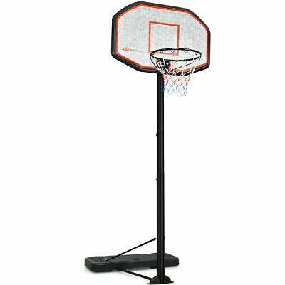 Advertisement Ebay 10ft 43 Backboard In Outdoor Adjustable Height Basketball Hoop Home School New Basketball Hoop Adjustable Basketball Hoop Basketball