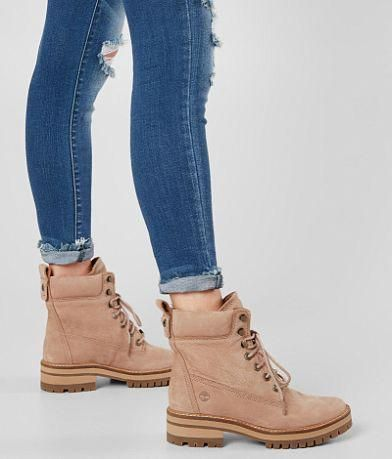 outfit timberland beige