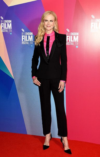 """Nicole Kidman attends the European Premiere of Destroyer"""" at the 62nd BFI London Film Festival on October 14, 2018 in London, England."""