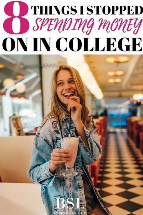 Ways To Save Money In College   8 Things I Stopped Spending My Money On In College - By Sophia Lee