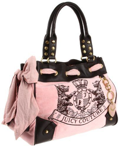 Juicy Couture Scottie Embroidery Daydreamer Tote Bag, Pink