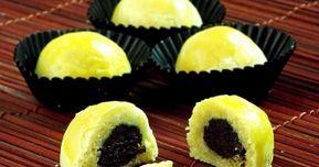 Jika Nastar Dengan Selai Nanas Apel Dan Durian Sudah Biasa Kali Ini Dapursaja Akan Berbagi Resep Kue Nastar Isi Coklat Resep Resep Kue Resep Kue Keju