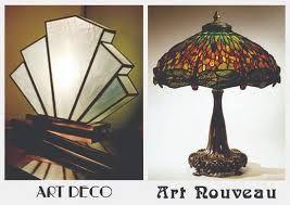 Art Nouveau Vs Art Deco Google Search With Images Art