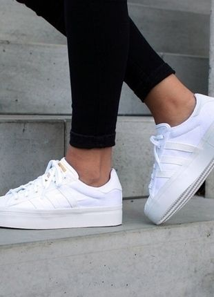 34ceb26704fb5 Adidas Superstar Rize W | lll MUST HAVES lll in 2019 | Schuhe, Marken schuhe  und Plateau sneaker