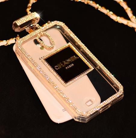 purchase cheap 25de3 b35f6 Authentic Chanel Perfume Bottle CAse ~Fits only for iPhone 4/5/6and ...