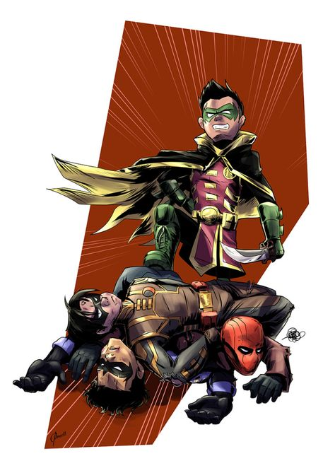 Commission: Best Boy, Robin