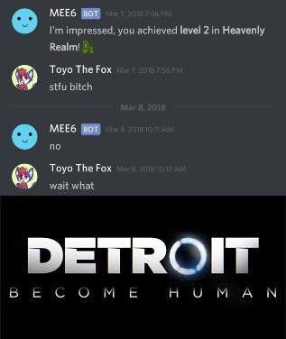 Thy Deviant In 2020 Stupid Memes Detroit Become Human Funny Memes