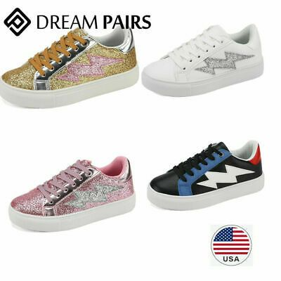 DREAM PAIRS Kid/'s Boys Girls Sneakers Sports Athletic Casual Walking Shoes Kids