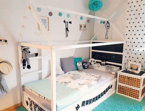 734 best Kinderzimmer images on Pinterest A unicorn - schlafzimmer mit dachschräge farblich gestalten