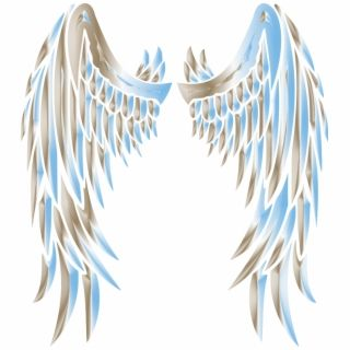 Sky Chrome Angel Wings Angels Wing Transparent Background Wings Drawing Angel Wings Clip Art Angel Wings Icon