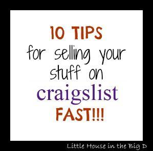 Selling On Craigslist