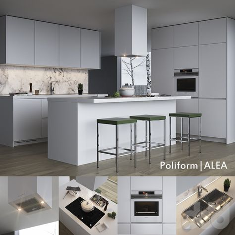 Cucina Alea di Varenna Poliform | showroom lacasa interior design ...