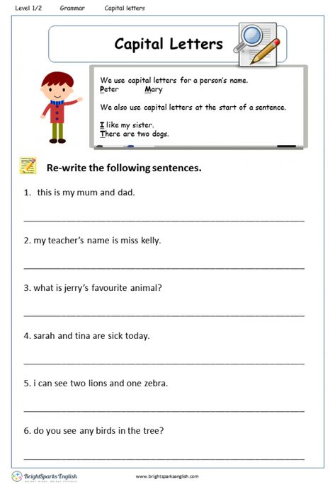 Question Words What? Where? Worksheet