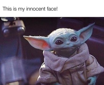 Pin By Don Rock On Baby Yoda Yoda Funny Yoda Meme Star Wars Pictures