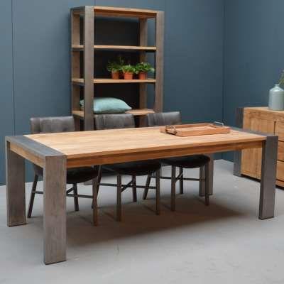 Esstisch Dengkleh 240 X 100 Cm Teakholz Massiv Holztisch Tisch Teak Holz Haus Deko Haus