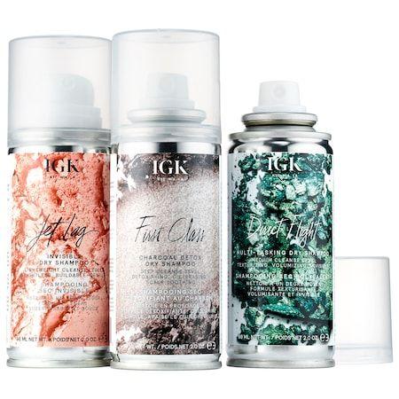 Flight Club Dry Shampoo Travel Set Igk Sephora Dry Shampoo Travel Size Products Shampoo