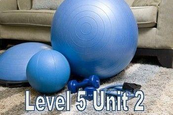 VIPKID Level 5 Unit 2: Eating Healthy, Exercising Vocabulary