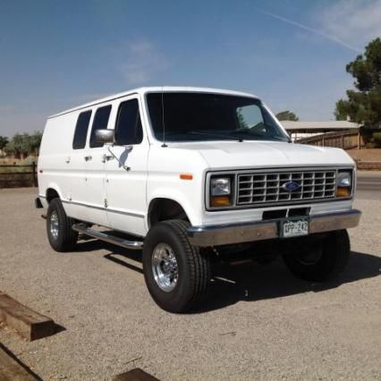 E 350 Econoline 1991 4x4 Van Classic Trucks Vans