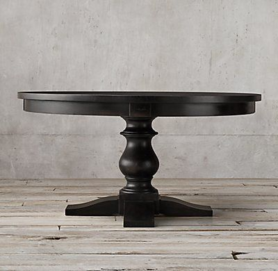 Rh 39 S 17th C Monastery Round Dining Table Balustrade Tables Like These Were Once Part Of Life In Medi 60 Round Dining Table Round Dining Round Dining Table