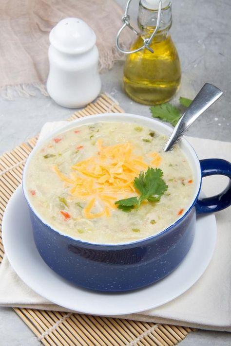 BEST Keto Soup! Low Carb Keto Chicken Fajita Soup Idea  Quick & Easy Ketogenic Diet Recipe  Completely Keto Friendly  Mexican Food Dinner Idea