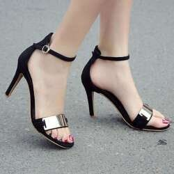 Sandal Wanita Hak Tinggi Terbaru Di 2020 Sepatu Wanita Sepatu