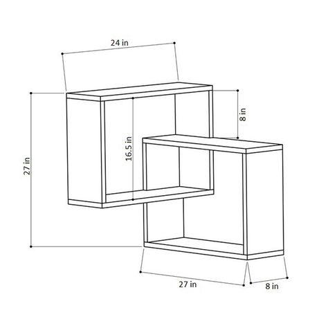 Corrigan Studio® Milo Modern Wall Shelf & Reviews   Wayfair