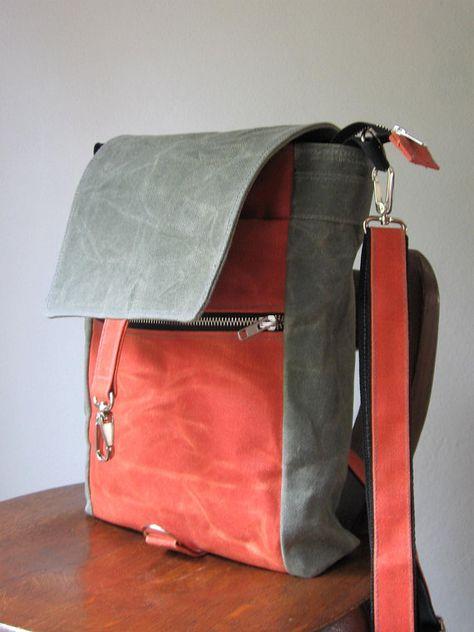 4198dc9a0d9329 Waxed Canvas Bag, Canvas Crossbody Bag, Canvas Purse, Waxed Canvas  Crossbody Bag, Waxed Canvas Purse, Vegan Crossbody bag, Canvas Bag