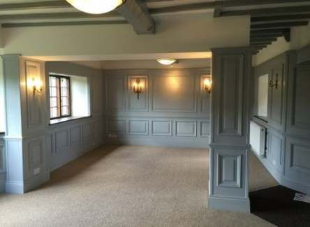 18 Wall Paneling Ideas To Unleash Your Imagination Harp Times Wood Panel Walls Wall Paneling Wood Paneling Living Room