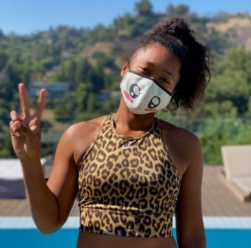 Naomi And Mari Osaka On Fashion In Tennis And Their New Charity Face Masks In 2020 Naomi Crazy Outfits American Athletes