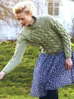 Blue Faced Leicester: Book by Debbie Bliss | Knitting Fever