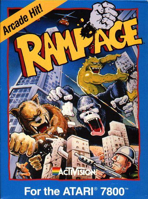 Rampage, Atari 7800  | MAME