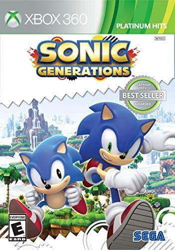 Sonic Generations Platinum Hits Xbox 360 Sega Https Www Amazon Com Dp B004x56ou8 Ref Cm Sw R Pi Dp U X Sgoldb5k8p Sonic Generations Generation Game Sonic