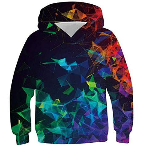 Kinder Mädchen Sweatshirt Pullover Hoodie Jumper Shirt Pulli Denim Jeans Hose