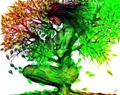 45 ideas de Mujer árbol | mujer árbol, arte, pinturas