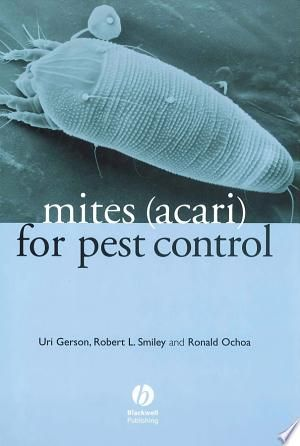 Mites Acari For Pest Control Pdf By Uri Gerson Robert L Smiley