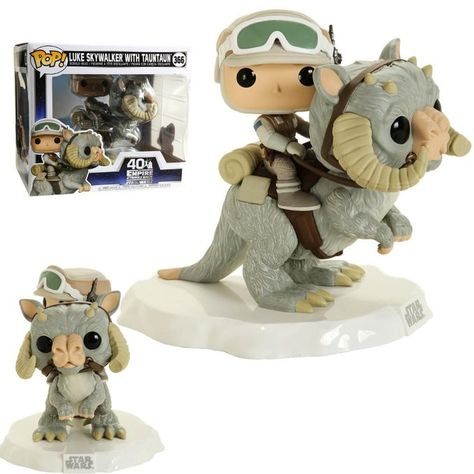 Luke Skywalker With Tauntaun Unboxed Funko Pop Star Wars Funko Pop Toys Funko Pop