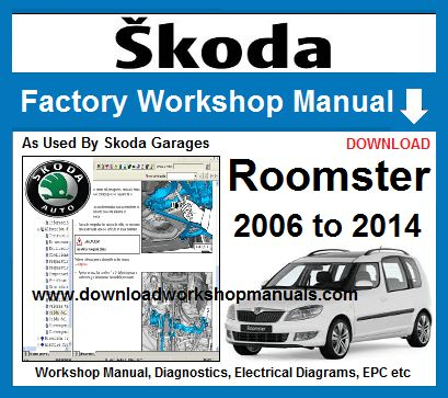 Skoda Roomster Workshop Repair Manual Wiring Diagrams Pdf