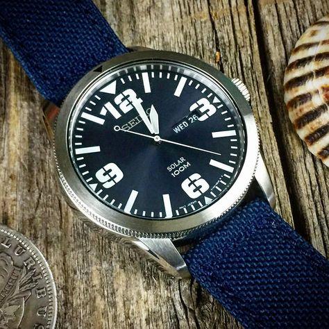 いいね!135件、コメント1件 ― Buffalo Steveさん(@gonshocks1)のInstagramアカウント: 「At last, a watch that my tired old eyeballs can see. #edcgear #seiko #seikosolar #edc #watches」
